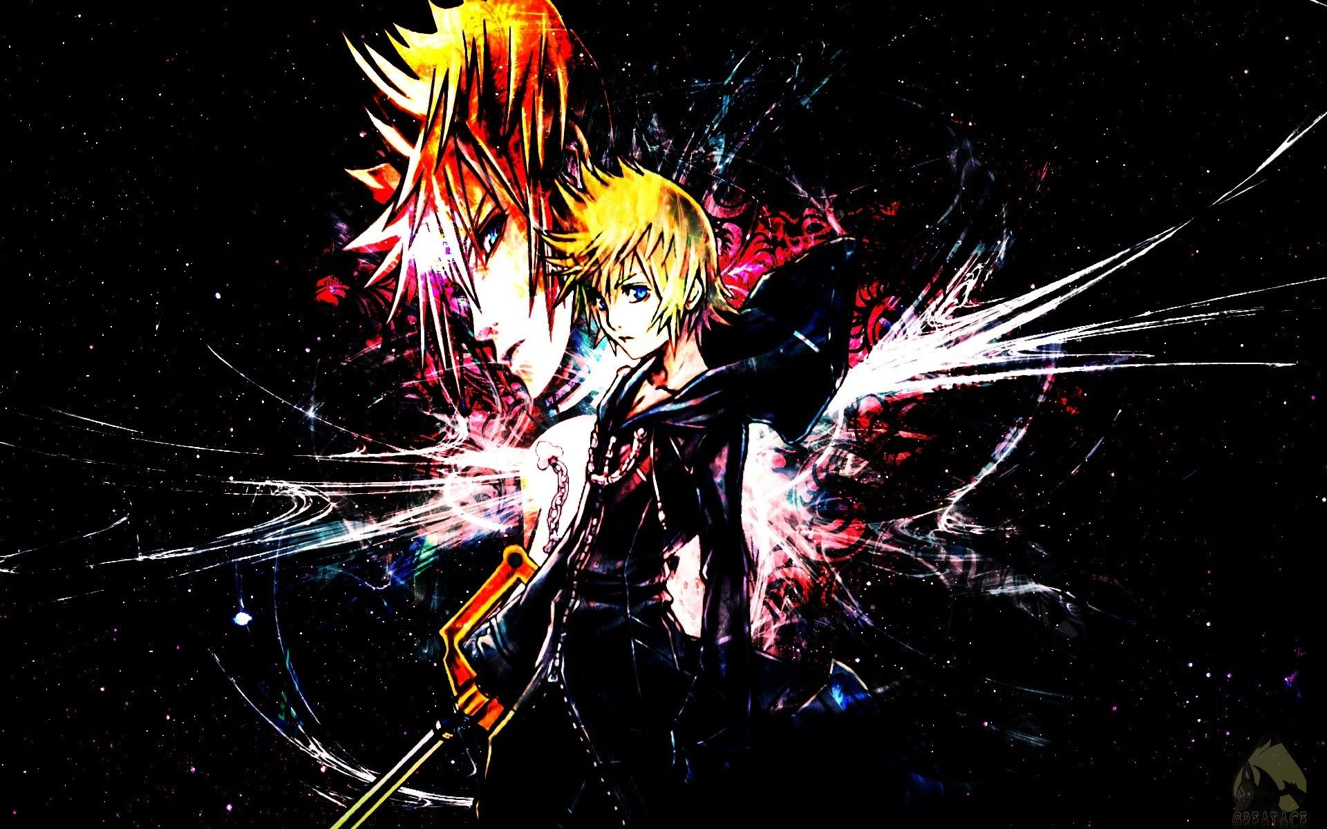 1920x1200 66+ Roxas Wallpapers on WallpaperPlay