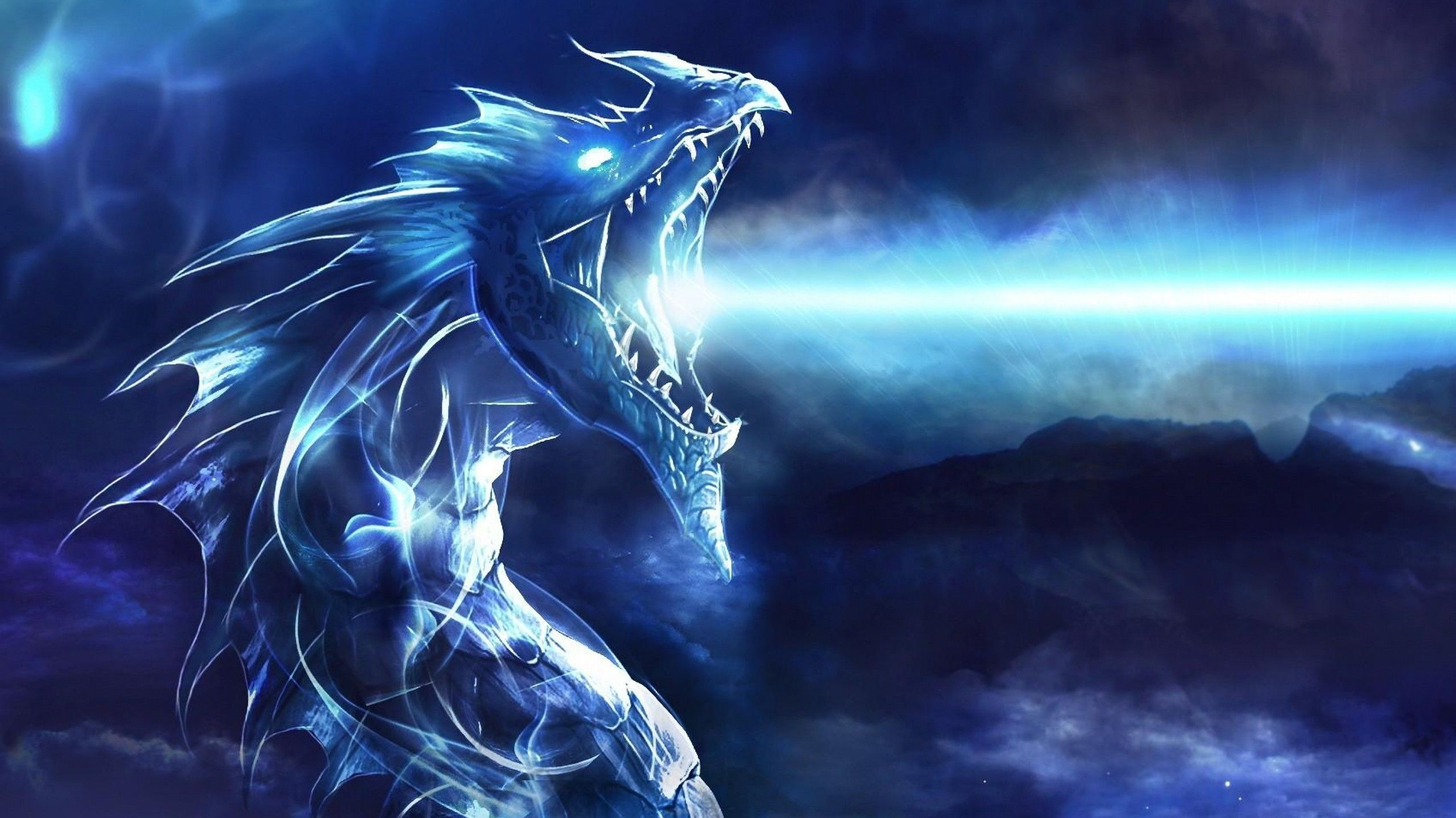 2560x1440 2560x1440 Blue Dragon 1440P Resolution HD 4k Wallpapers, Images ...