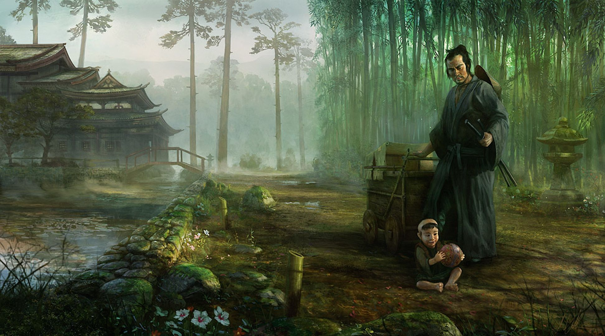 1944x1080 Lone Wolf and Cub [1920x1080] : wallpapers