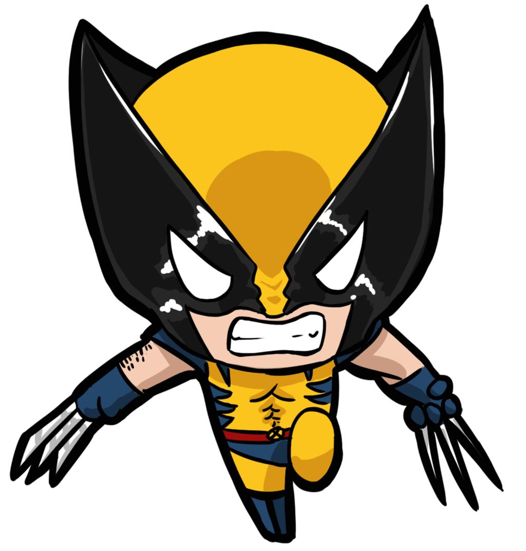 1024x1073 Pin by Julia Cokelet-Kenny on Reference   Chibi, Wolverine, Chibi marvel