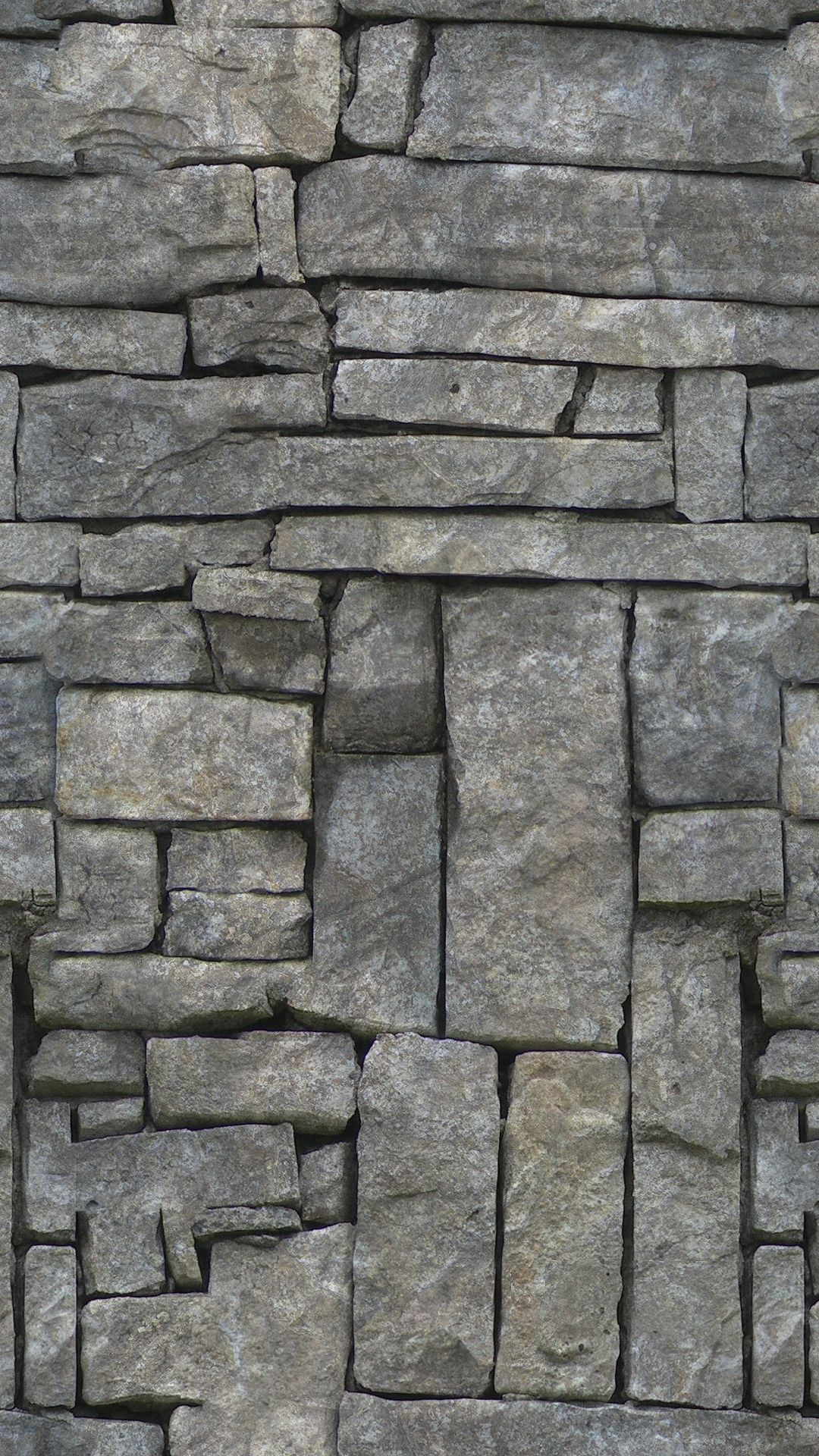 1080x1920 Stone Wall Texture Pattern iPhone 6 Plus HD Wallpaper HD ...