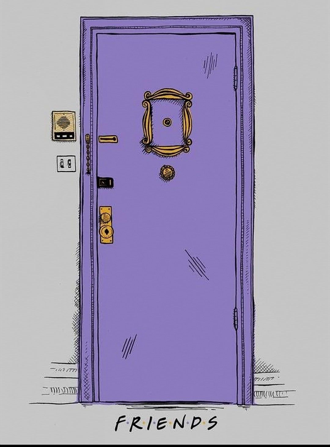 1080x1463 I wish I could have this door | wallpapers | Pinterest | Friends ...