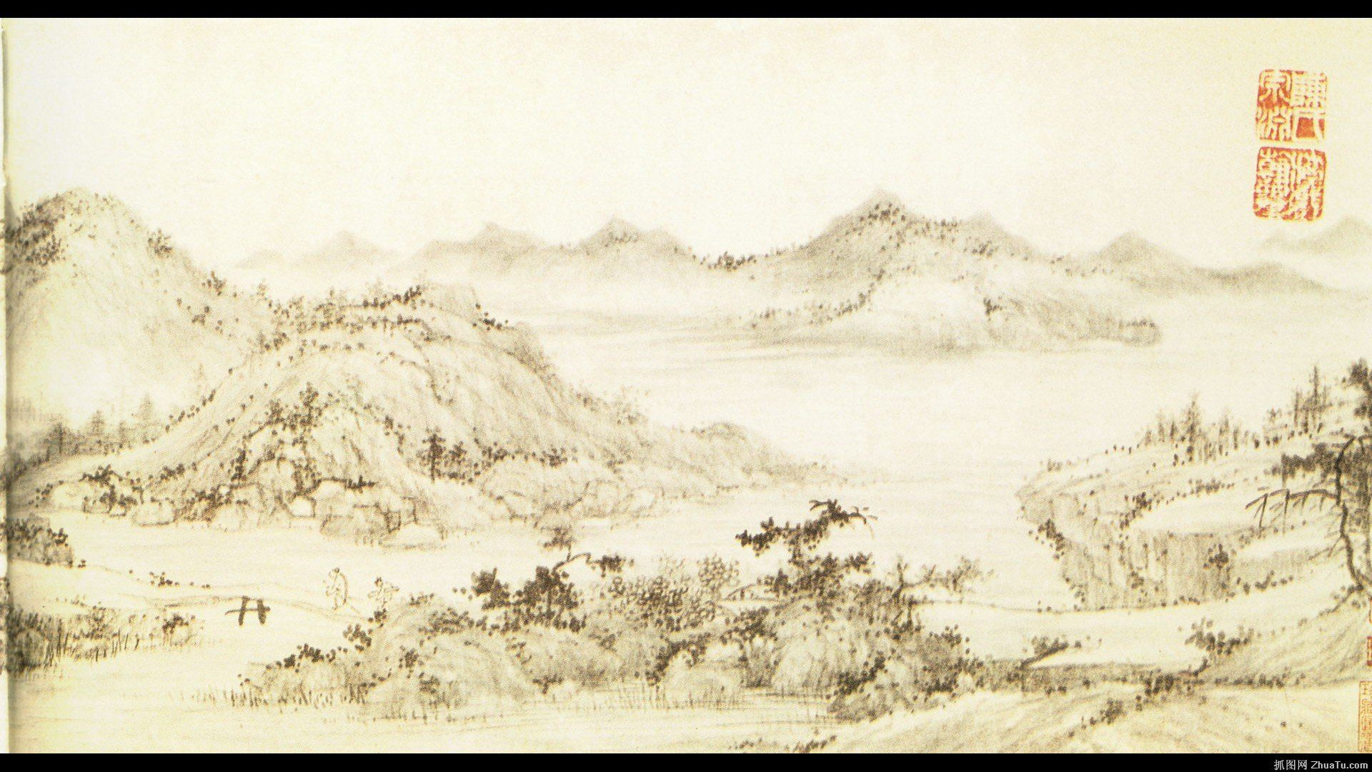 1920x1080 Chinese Painting 619859 - WallDevil