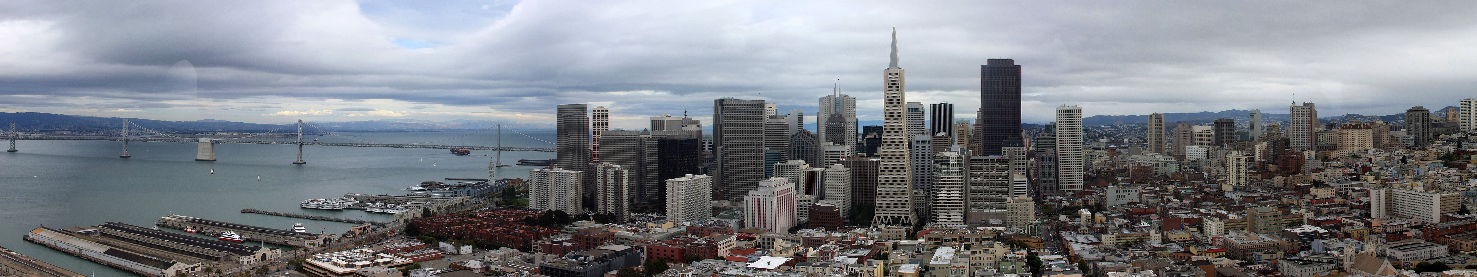 5760x1080 Building, City, Town, Urban, Downtown resized by Ze Robot