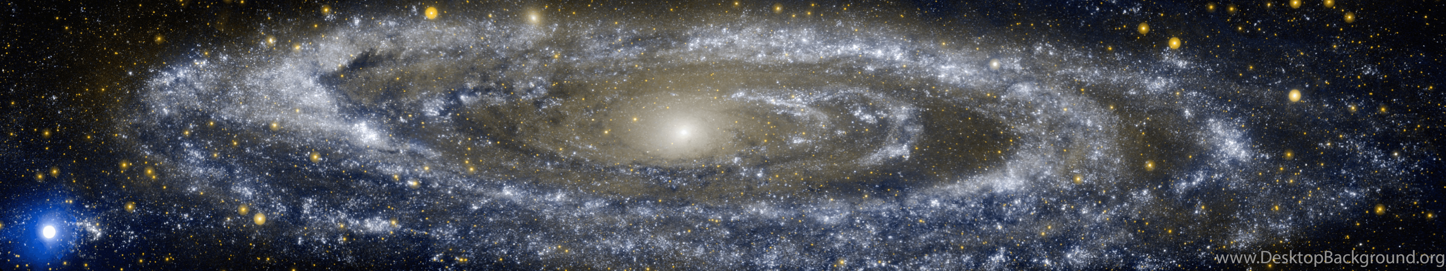 5760x1080 Andromeda Triple Monitor Wallpapers By TomThaiTom On DeviantArt ...