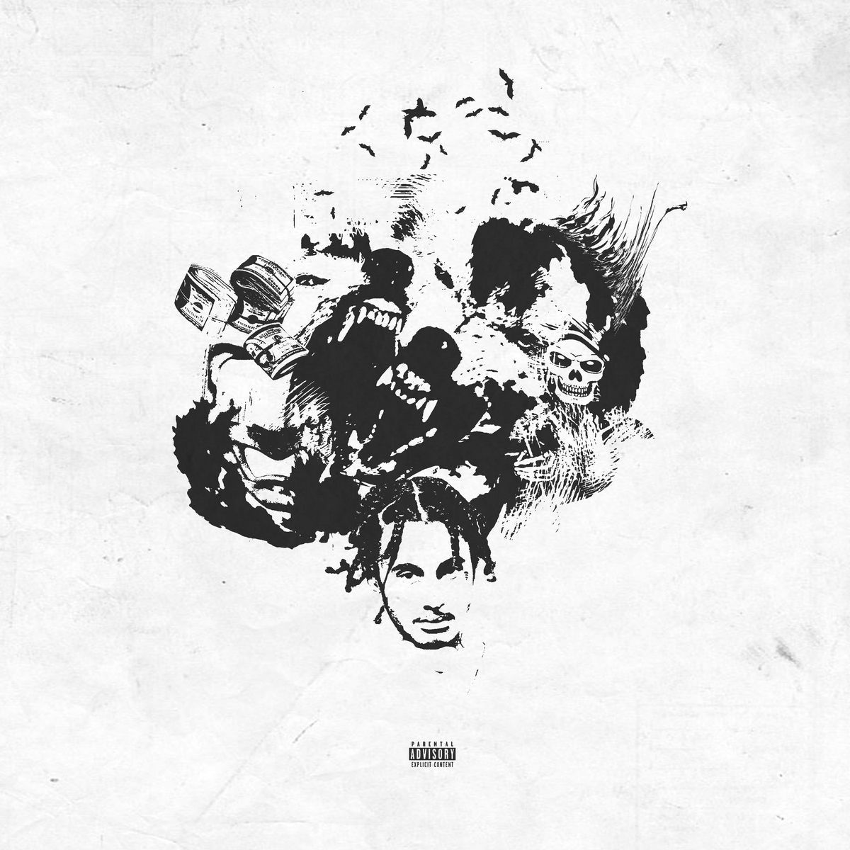 1200x1200 Wifisfuneral - Boy Who Cried Wolf | Album Cover$ in 2019 | Pinterest ...