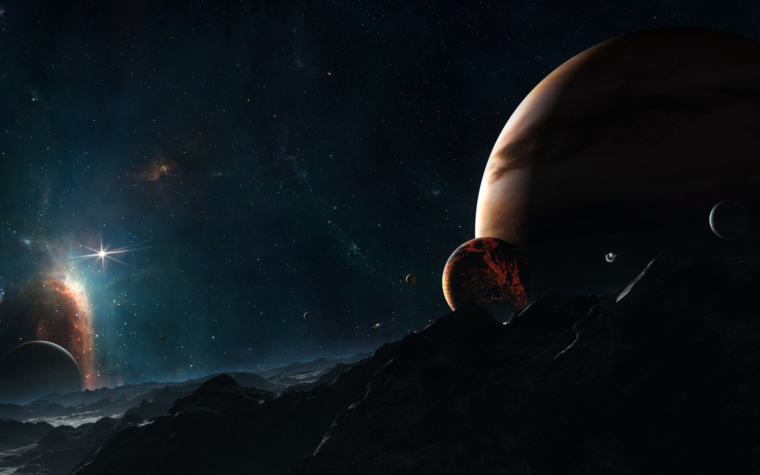 2560x1600 Population of Known Alien Planets Nearly Doubles as NASA Discovers ...