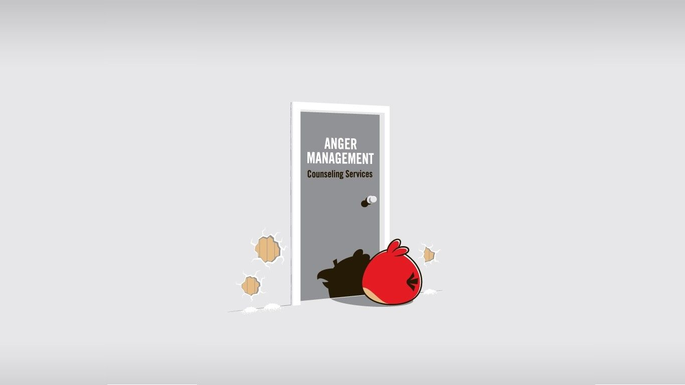 1366x768 1366x768 Angry Birds Anger Management desktop PC and Mac wallpaper