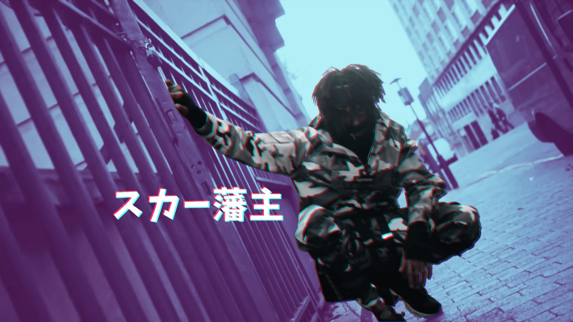 1920x1080 Wallpaper i made from HXW THEY JUDGE videoclip : scarlxrd