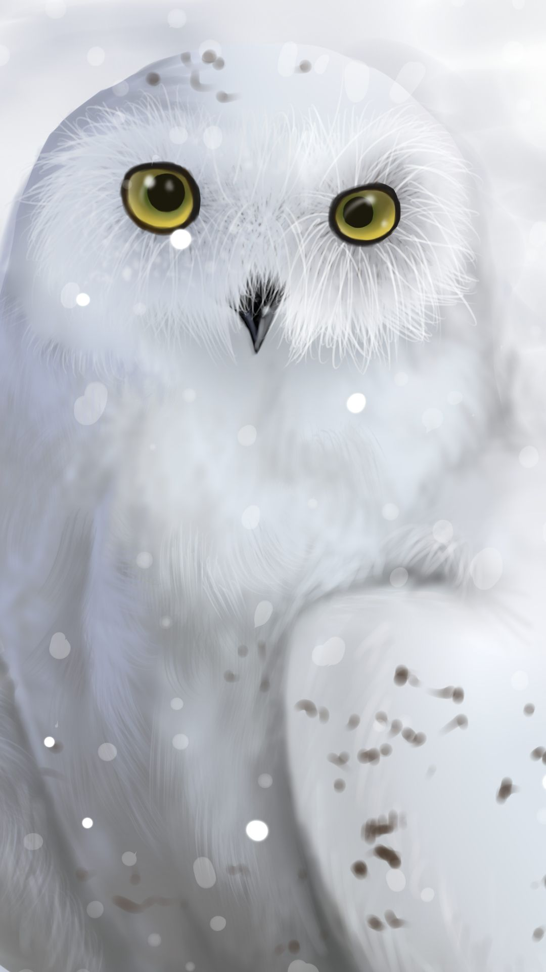 1080x1920 Snowy Owl (1080x1920) Mobile Wallpaper | Wallpapers For iPhone and ...