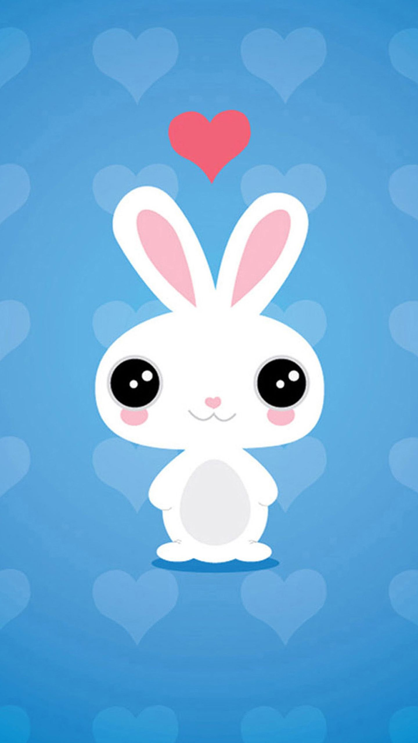 1440x2560 Cute Bunny Wallpaper | painting | Pinterest | Wallpaper, Hd phone ...