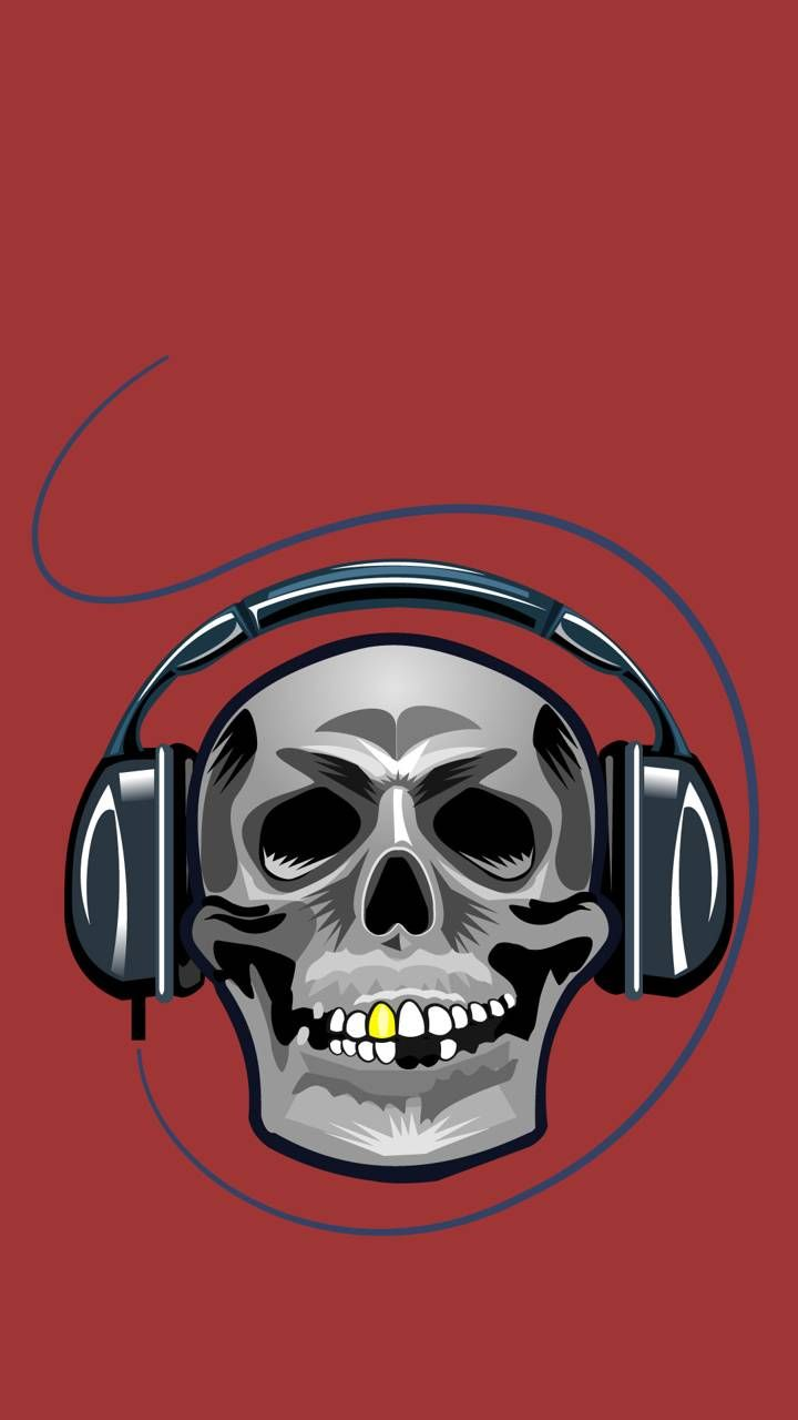 720x1280 Skull Headphones Wallpaper by free2saute - bc - Free on ZEDGE™