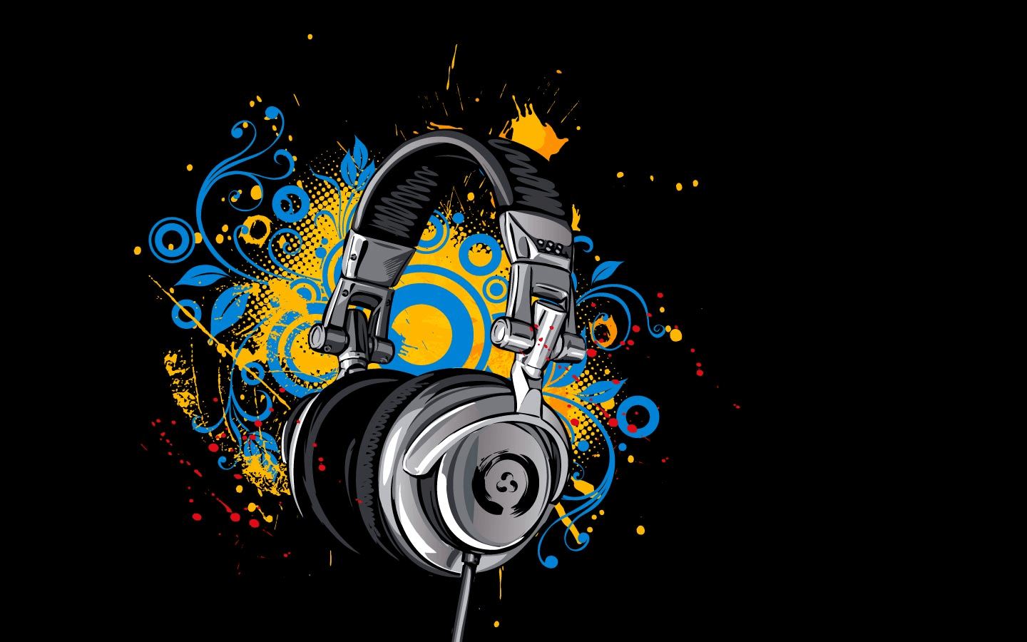1440x900 Headphone Wallpaper Image Group (41+)