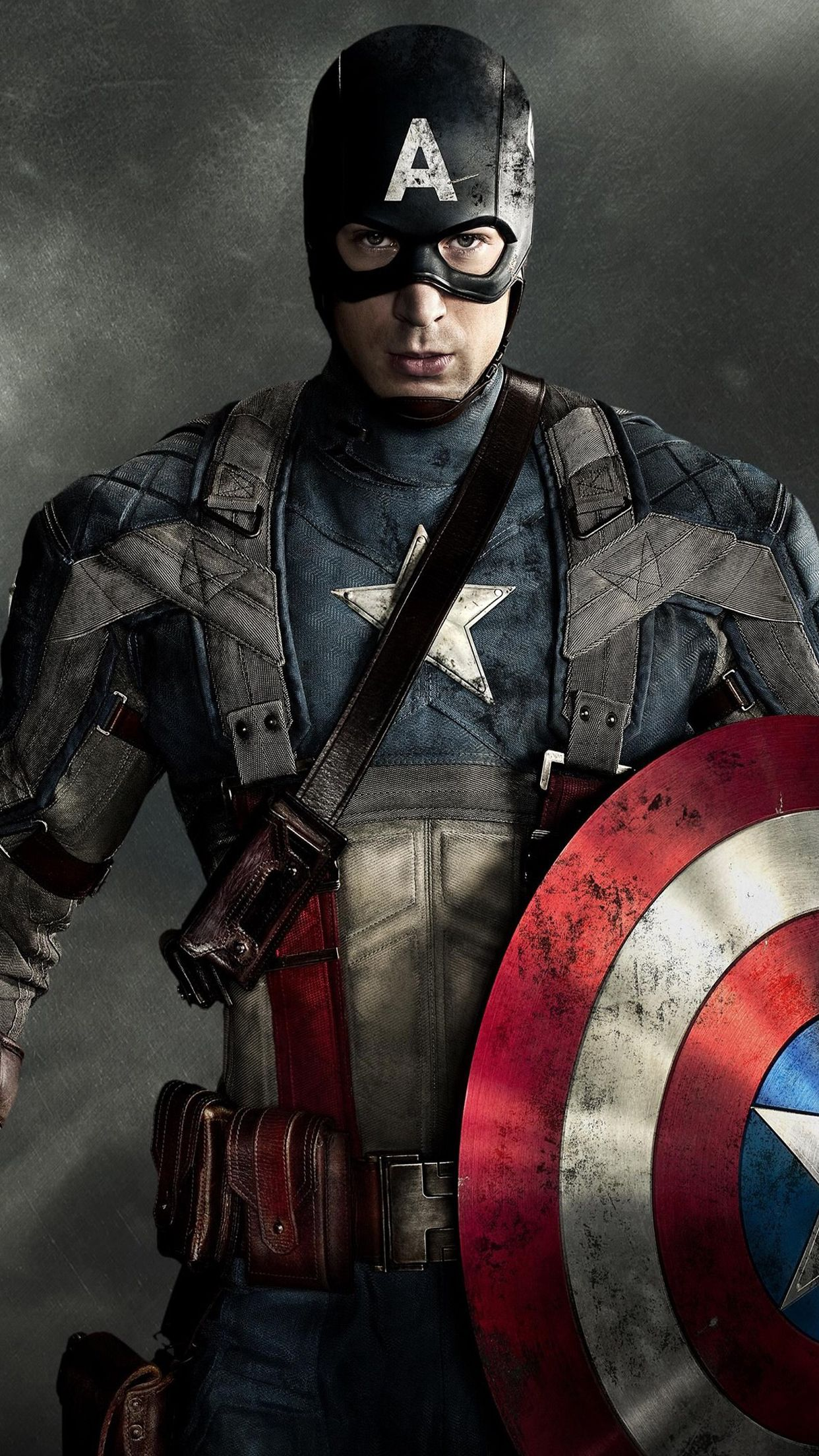 1242x2208 Captain America (2) Wallpaper for iPhone X, 8, 7, 6 - Free Download ...