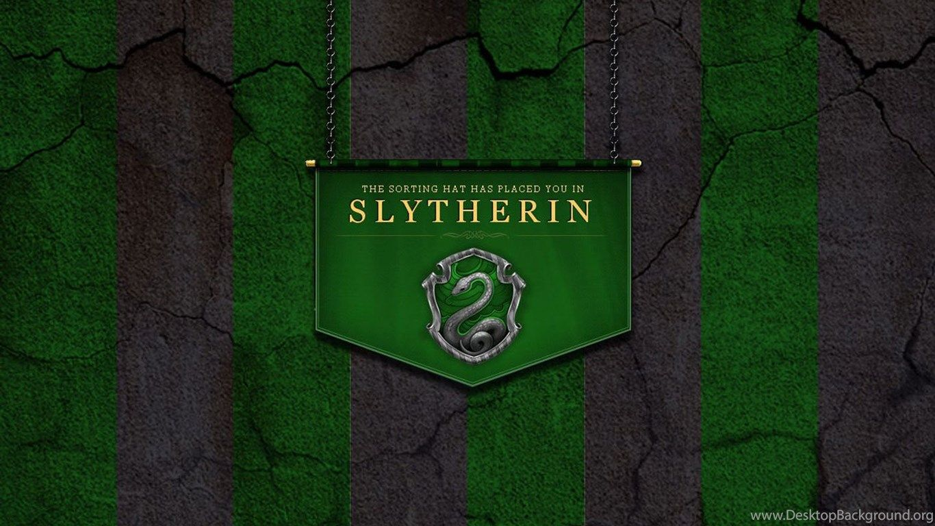 1366x768 Free Wallpapers Slytherin Wallpapers Desktop Background