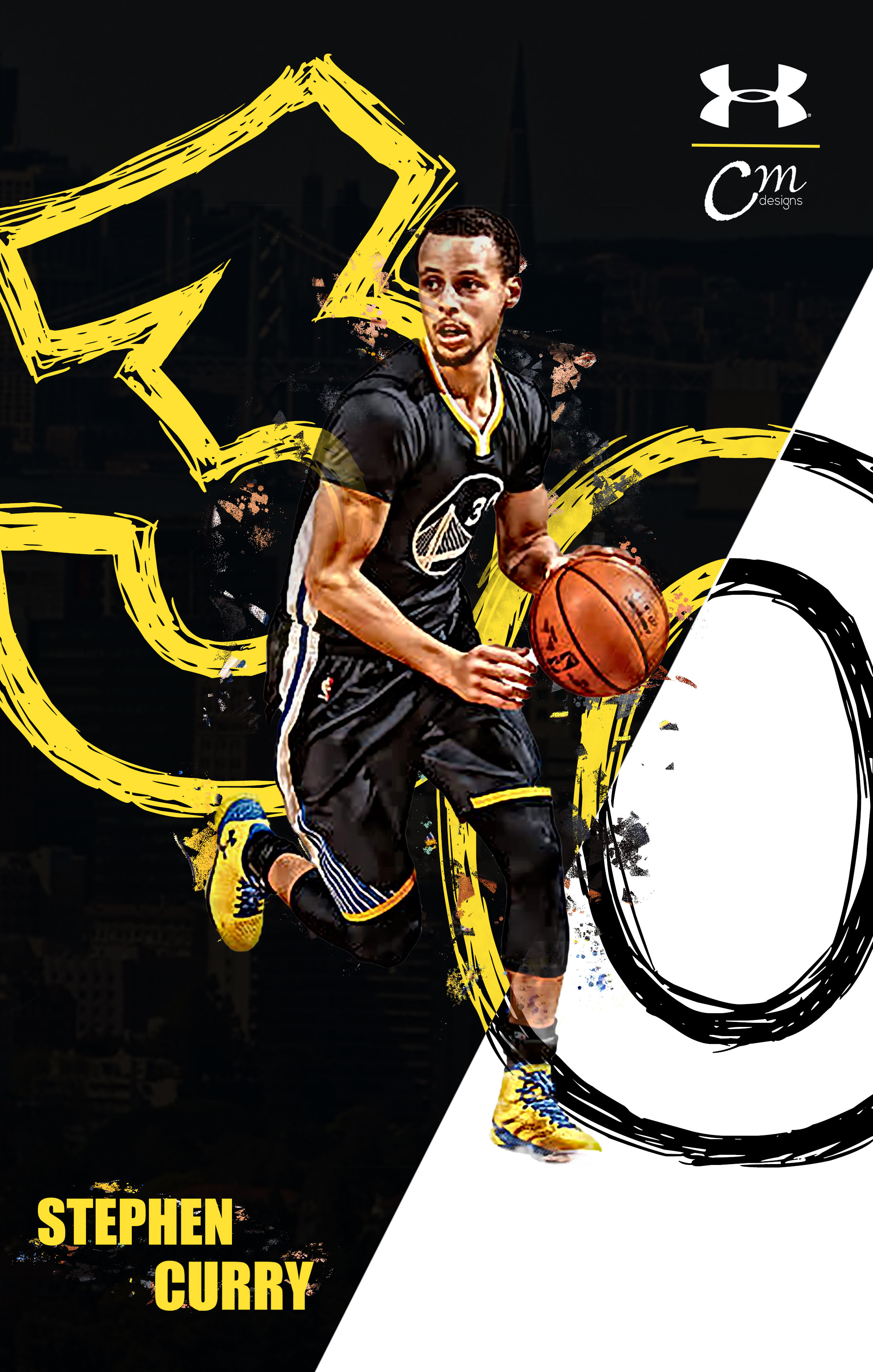 2100x3300 Stephen Curry Shooting Wallpapers Phone ~ Festival Wallpaper