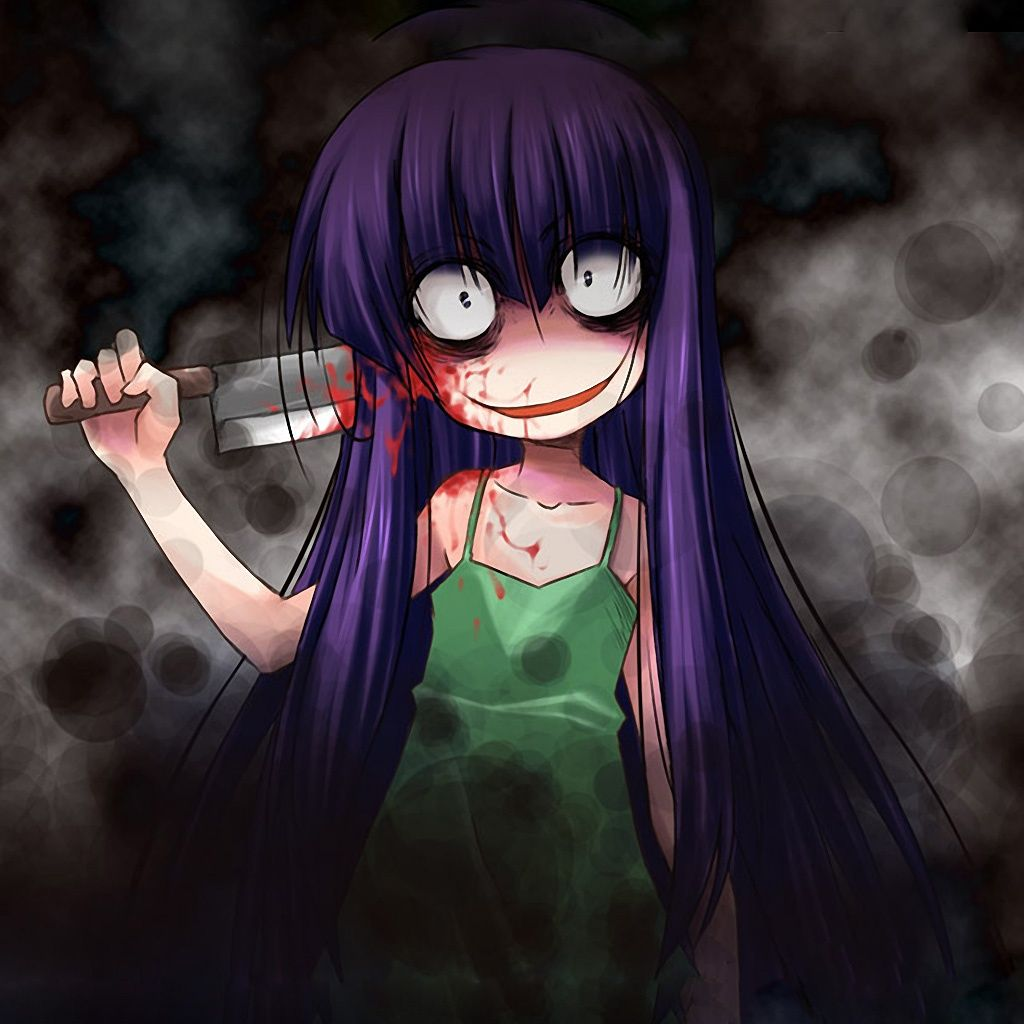 1024x1024 Image - Ipad 6651 1 other anime hd wallpapers horror creepy blood ...