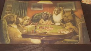 Dogs Playing Poker Wallpaper 62+
