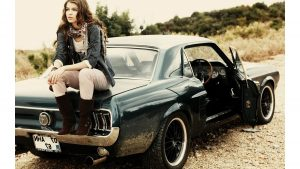 Girls and Muscle Cars Wallpaper 59+