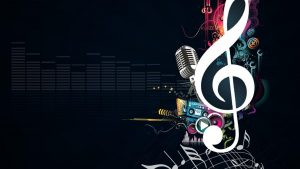 Abstract Music Wallpaper 64+
