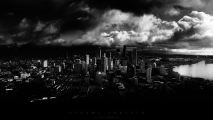 Black and White City Wallpaper 56+