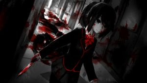 Creepy Anime Wallpaper 58+