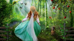 Enchanted Forest Background 60+