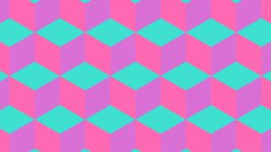 Pink and Turquoise Wallpaper 64+