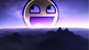 Awesome Smiley Wallpaper 60+