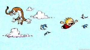 Calvin and Hobbes Snowman Wallpaper 62+