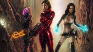 Mass Effect 3 Femshep Wallpaper 80+