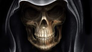 Wallpapers Skulls with Flames 58+