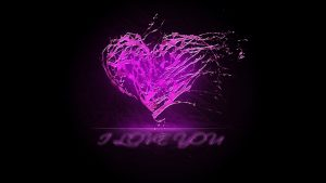 Purple Hearts Wallpaper 58+