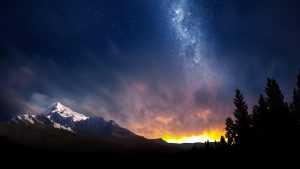 Beautiful Night Sky Wallpaper 66+