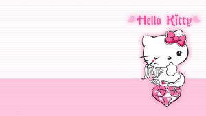 Glitter Hello Kitty Backgrounds for Computers 37+