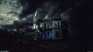 Haunted House Desktop Wallpaper 61+